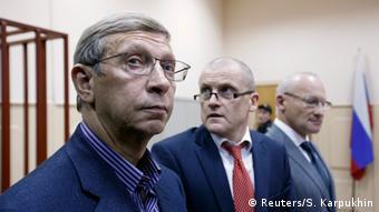 Владимир Евтушенков в зале суда 14.11.2014 в Москве