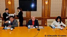 Sejtkazi Mataev Präsident des kasachischen Journalistenverbandes in Peking