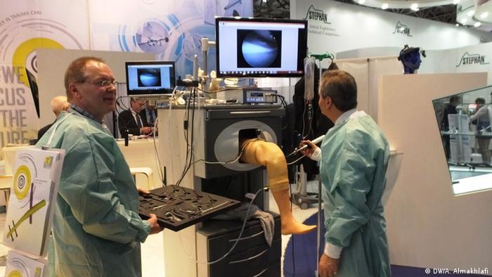 Knie-Arthroskopie-Simulator