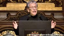 Amos Oz Verleihung des Siegfried-Lenz-Preises im Rathaus in Hamburg 14.11.2014