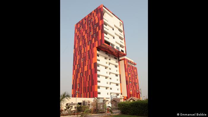 Gebäude Villaggio II in Accra vom Architekten Allford Hall Monaghan Morris