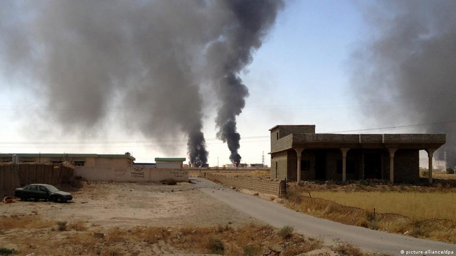 """الجيش العراقي """"يكمل"""" تحرير مصفاة بيجي   DW   18.11.2014"""