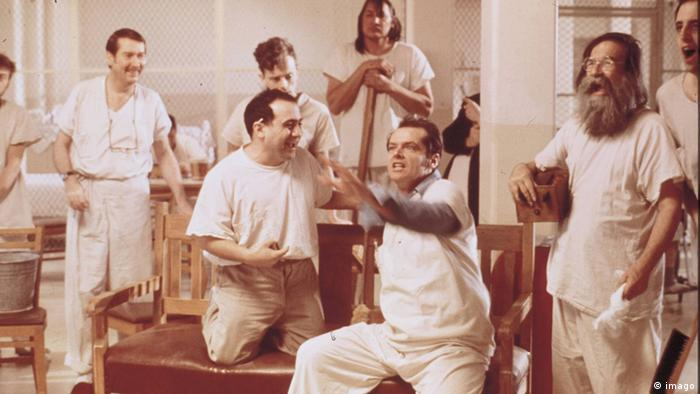 Jack Nicholson in One Flew Over the Cuckoo's Nest (imago)