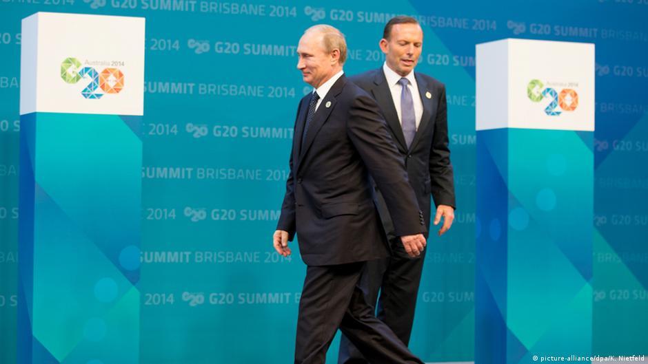 """قمة الـ20: أوباما يصف """"عدوان"""" روسيا بأنه """"تهديد للعالم""""   DW   15.11.2014"""