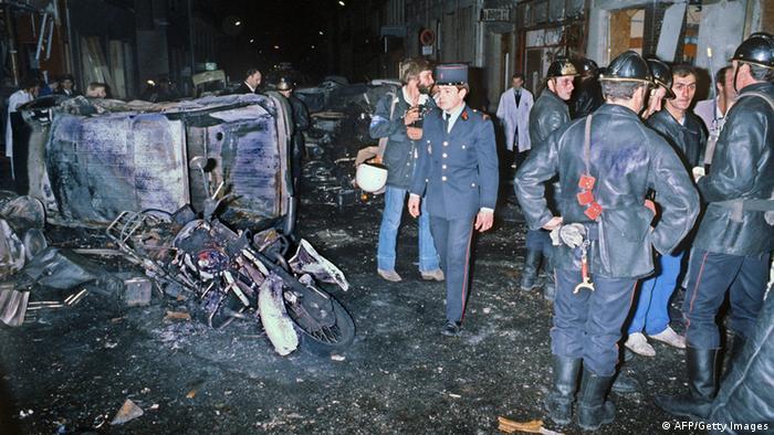 Anschlag auf Pariser Synagoge 1980 (AFP/Getty Images)
