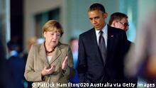 G20-Gipfel in Brisbane Barack Obama Angela Merkel 15.11.2014