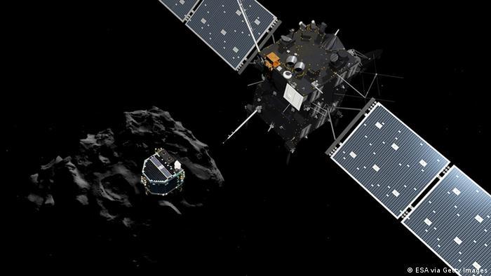 Raumfahrt ESA Weltraumsonde Rosetta Зонд Rosetta