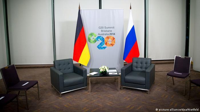 G20-Gipfel in Brisbane Deutschland Russland 15.11.2014