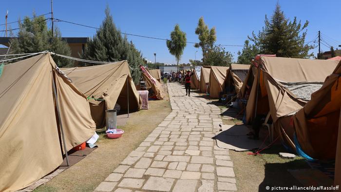 Refugees in Irbil Photo: Thomas Rassloff
