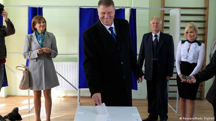 Klaus Iohannis - noul presedinte al Romaniei