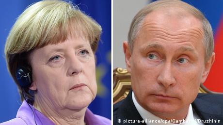 Меркель обговорила з Путіним ситуацію на Донбасі та в Сирії
