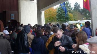 Bonn Stimmabgabe für Präsidentschaftswahl in Rumänen 16.11.2014