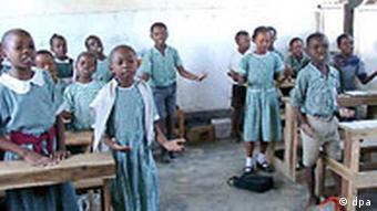 Schulkinder in Kilifi (Kenia)