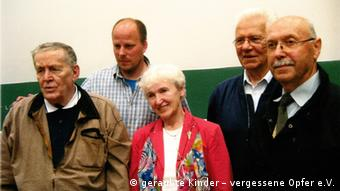 Hermann Lüdeking, Christoph Schwarz, Barbara Paciorkiewicz, Janez Žmavc und Janez Štiglic am 9. Mai 2014 in Freiburg