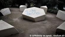Antijüdische Graffiti Antisemitismus in Griechenland
