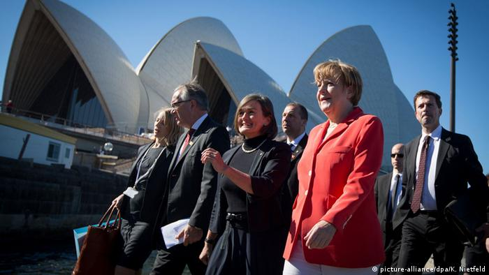 Angela Merkel in Australien 17.11.2014