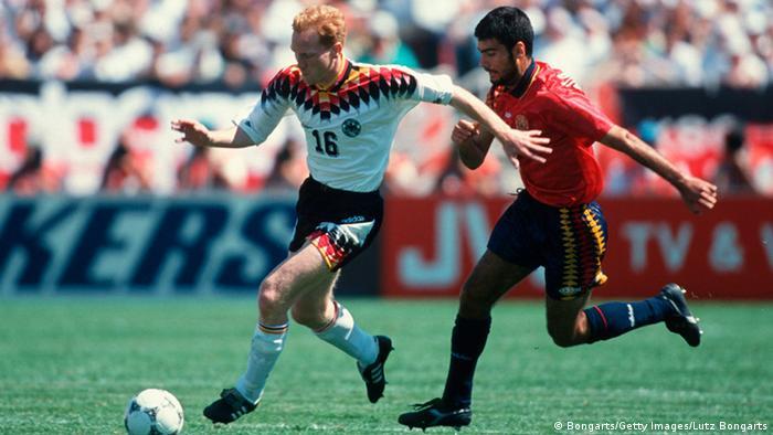 معرض صور لمباريات كرة القدم الألمانية ضد إسبانيا (Bongarts / Getty Images / Lutz Bongarts)