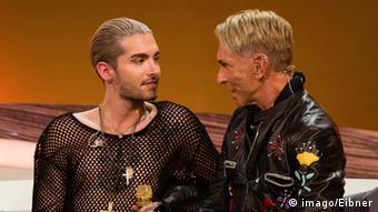 Wolfgang Joop with Bill Kaulitz, Copyright: Imago/eibner