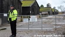 Vogelgrippe in Großbritannien 17.11.2014 Nafferton