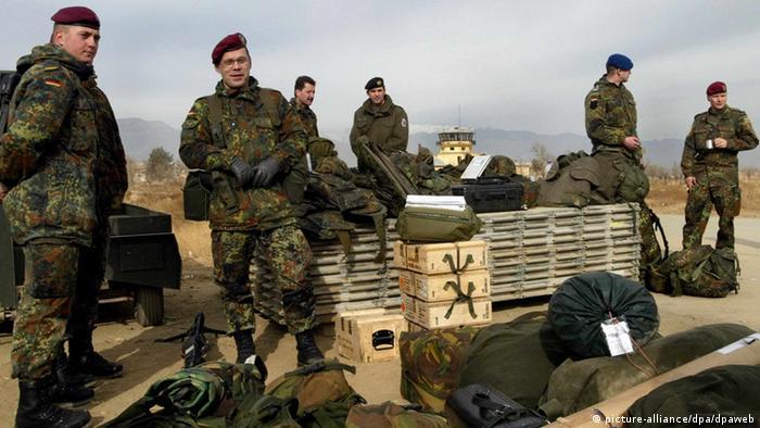 Deutsche Soldaten in Afghanistan eingetroffen