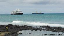 Ölexplorationszone in Sao Tome und Principe
