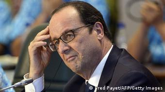 Frankreich Präsident Francois Hollande 17.11.2014