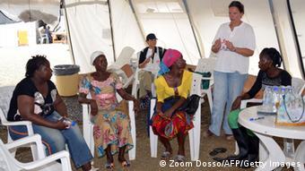 Liberia Monrovia Ebola Überlebende