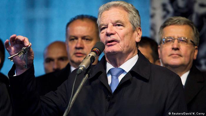 Bundespräsident Gauck spricht in Prag (Foto: Getty Images)