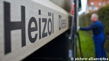 Deutschland Energie Ölpreis Lieferung von Heizöl