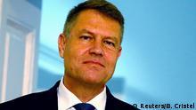 Rumänien neugewähler Präsident Klaus Iohannis