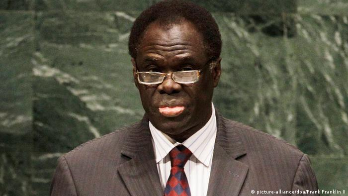 Michel Kafando Übergangspräsident Burkina Faso 17.11.2014