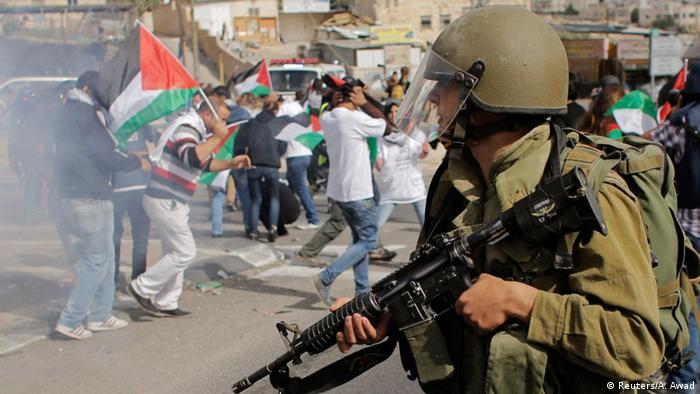 Palästina Proteste Jerusalem Westjordanland 14.11.2014