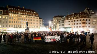 PEGIDA Demonstration Dresden