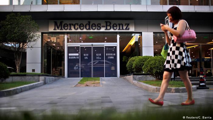 Mercedes-Benz Autosalon in Shanghai Archiv (Reuters/C. Barria)