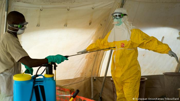 Ebola-Helfer in Guinea (Foto: European Union)