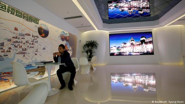 Negative Preisentwicklung auf dem Wohnungsmarkt in China 18.11.2014 Peking (Reuters/K. Kyung-Hoon)
