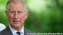 Prinz Charles Porträt Großbritannien