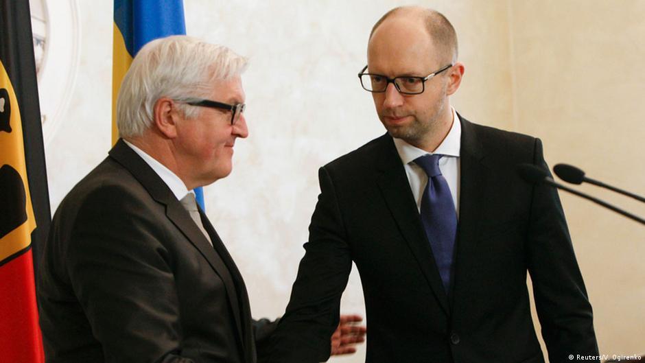 Штайнмайер: ЕС поможет Украине провести реформы | DW | 18.11.2014