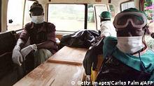 Ebola Jahr 2000 Gulu Uganda Helfer