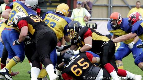 American Football Nationalmannschaft Schweden
