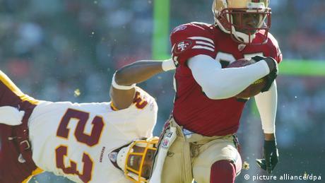 Ade Jimoh von den Redskins San Francisco 49ers American Football