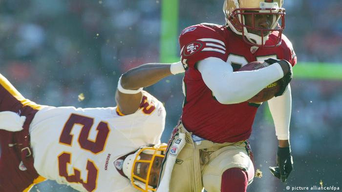 Ade Jimoh von den Redskins San Francisco 49ers American Football (picture alliance/dpa)