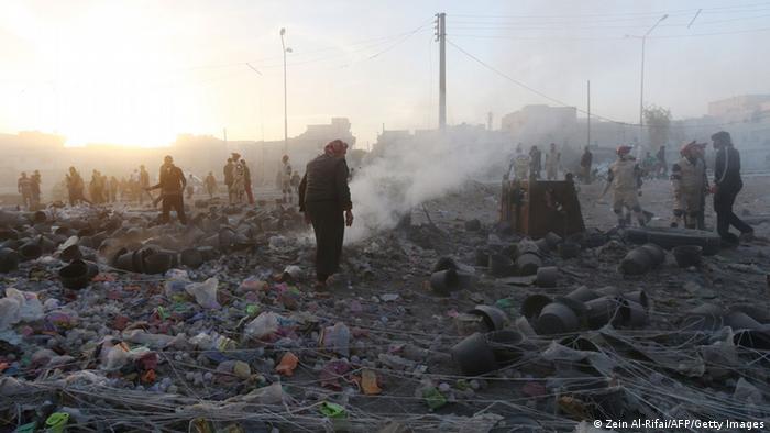 Syrien Aleppo 11.11.2014