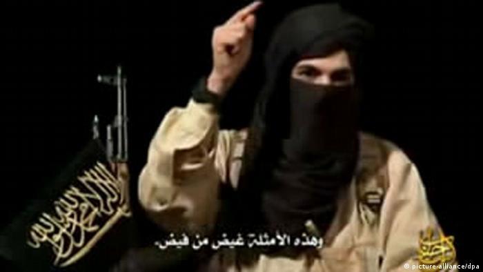Abu Talha in a video message