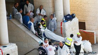 Bodies are taken from the synagogue