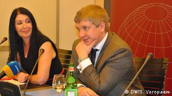 Андрей Коболев на конференции в Брюсселе 18 ноября