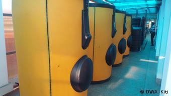 Wassererheizung im Bio Center des Human Needs Projects Nairobi