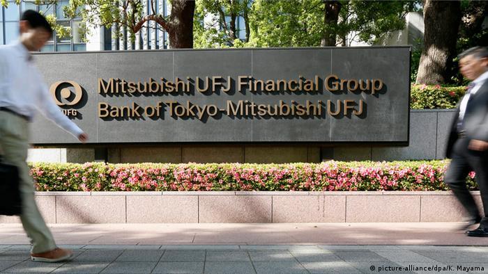 Schild Mitsubishi UFJ Financial Group Inc.