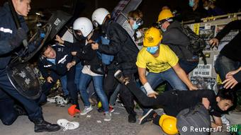 Proteste in Hongkong 19.11.2014