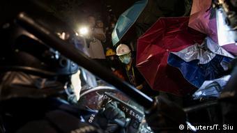 Proteste in Hongkong 19.11.2014